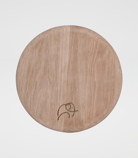 Round Placemat / Serving Board Ellie