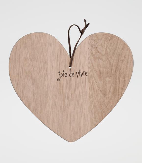 Joie de Vivre Heart Board