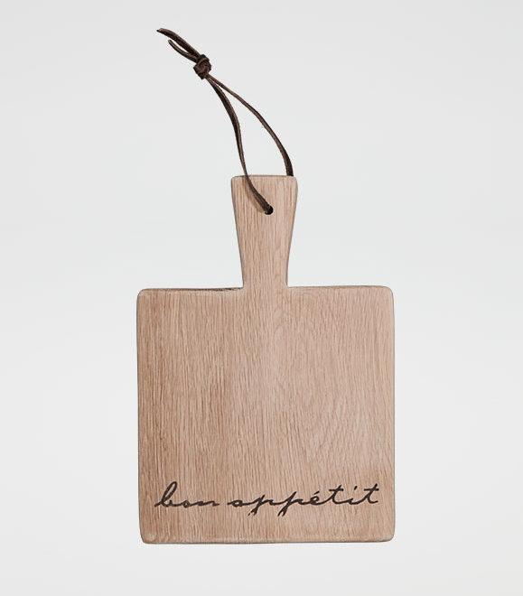 Bon Appetit Square Mini Paddle