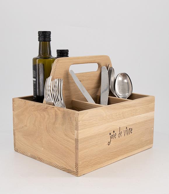 Joie de Vivre Cutlery Box
